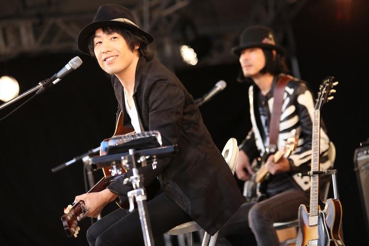 NAOKI(LOVE PSYCHEDELICO) (撮影:船橋岳大)