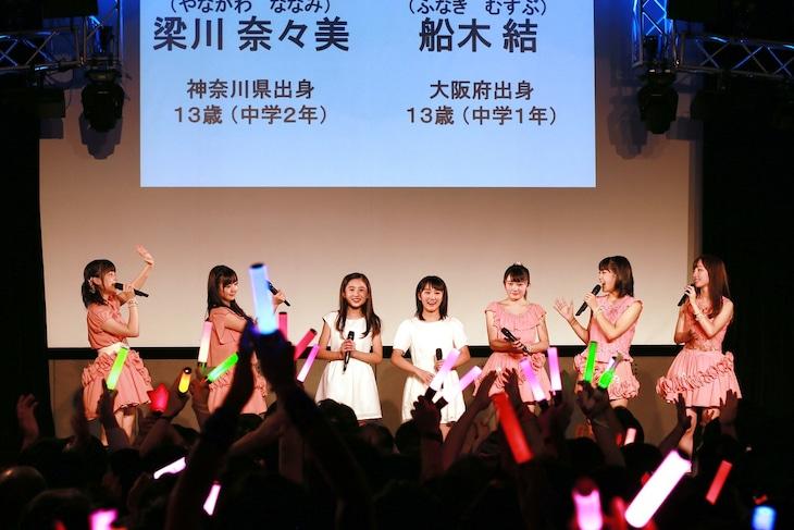 「カントリー・ガールズ1周年記念イベント&嗣永桃子復活祭」の様子。(提供:アップフロントグループ)
