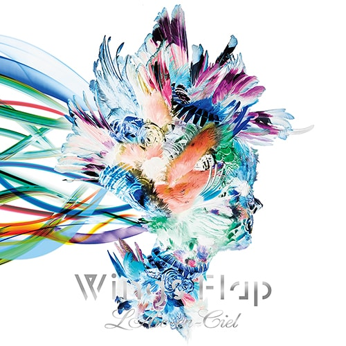 L'Arc-en-Ciel「Wings Flap」初回限定盤ジャケット