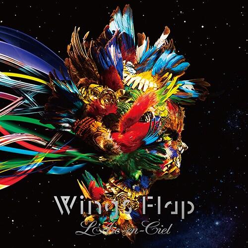 L'Arc-en-Ciel「Wings Flap」通常盤ジャケット