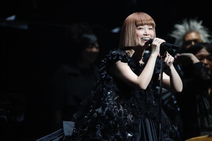 「YUKI LIVE dance in a circle '15」日本武道館公演の様子。 (撮影:川田洋司)