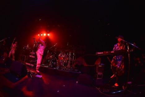 「お口ポカーンフェス?! NEGOTO 5th Anniversary ~バク TO THE FUTURE~」1stステージの様子。(Photo by AZUSA TAKADA)