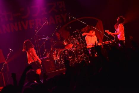 「お口ポカーンフェス?! NEGOTO 5th Anniversary ~バク TO THE FUTURE~」4thステージの様子。(Photo by AZUSA TAKADA)