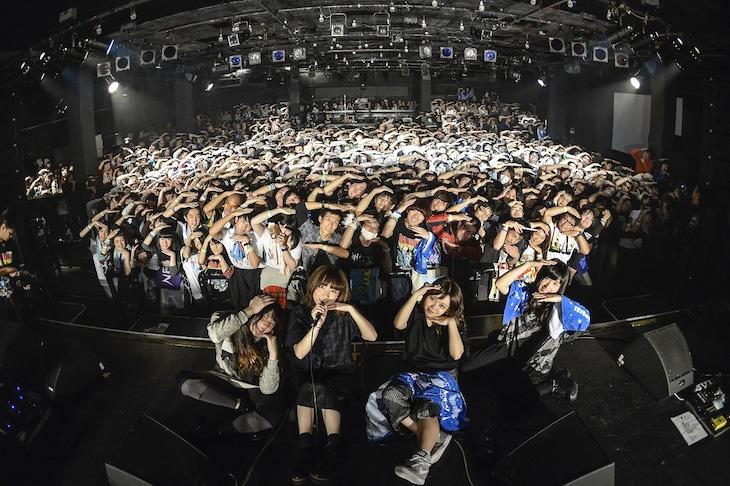 「お口ポカーンフェス?! NEGOTO 5th Anniversary ~バク TO THE FUTURE~」の様子。(Photo by AZUSA TAKADA)