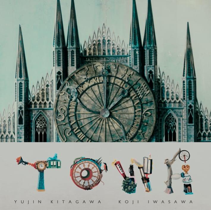 1月リリースのアルバム「TOWA」通常盤ジャケット