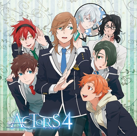 V.A.「EXIT TUNES PRESENTS ACTORS4」初回限定盤ジャケット
