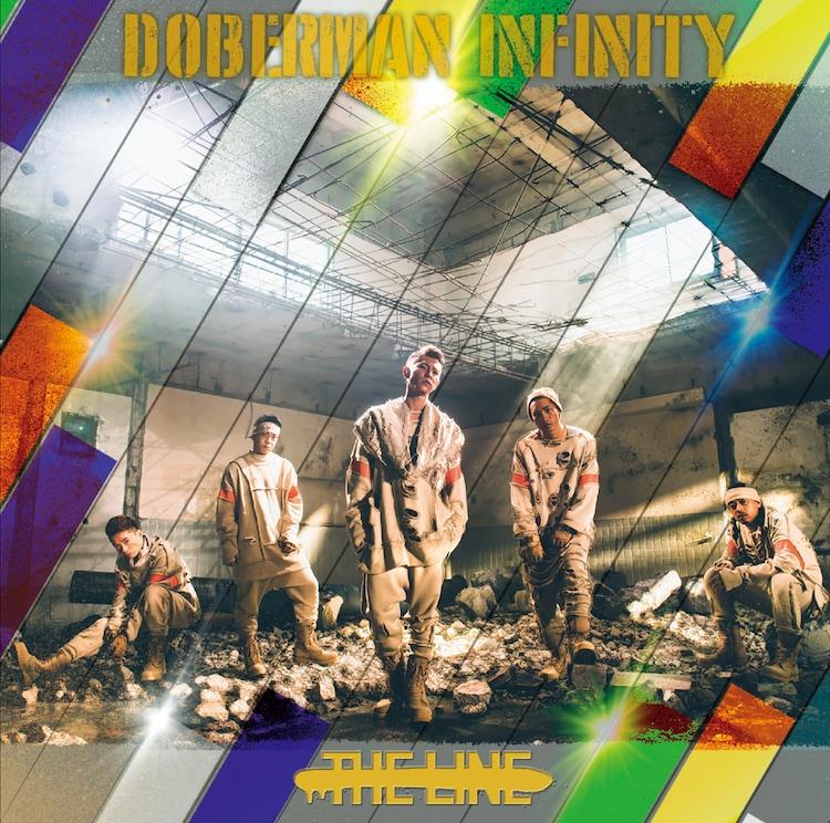 DOBERMAN INFINITY「THE LINE」通常盤ジャケット