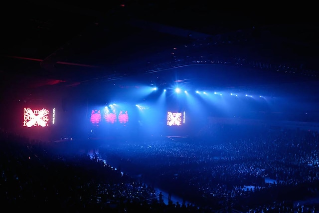 「BABYMETAL WORLD TOUR 2015 -THE FINAL CHAPTER OF TRILOGY-」の様子。(Photo by Taku Fujii)
