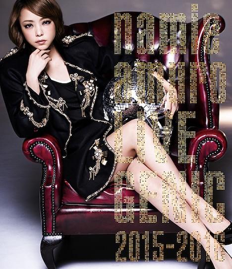 安室奈美恵「namie amuro LIVEGENIC 2015-2016」Blu-ray盤ジャケット