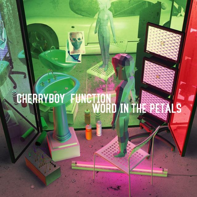 CHERRYBOY FUNCTION「WORD IN THE PETALS」ジャケット