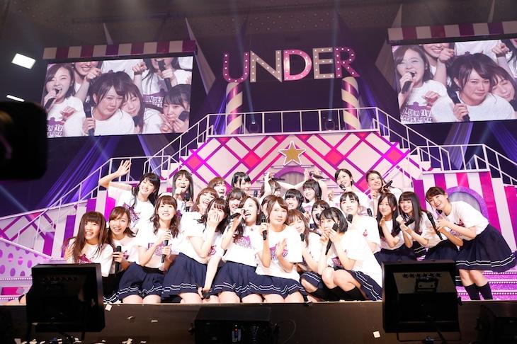 「乃木坂46 アンダーライブ at 日本武道館」2日目の様子。(提供:Sony Music Records)