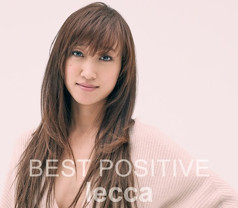 lecca「BEST POSITIVE」CD+DVD盤ジャケット