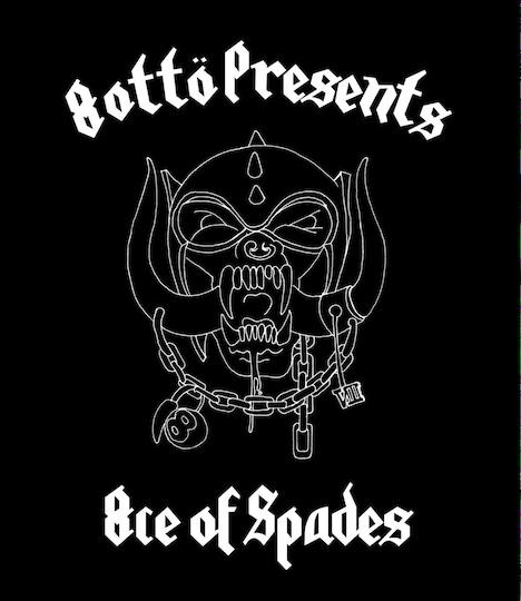 "「8otto presents ""8ce Of Spades""」メインビジュアル"