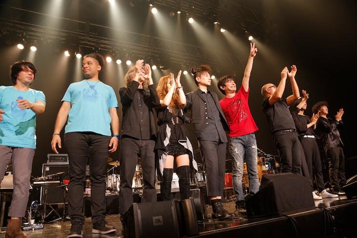 宮沢和史 コンサートツアー 2016「MUSICK」Zepp DiverCity TOKYO公演の様子。(撮影:ほりたよしか)