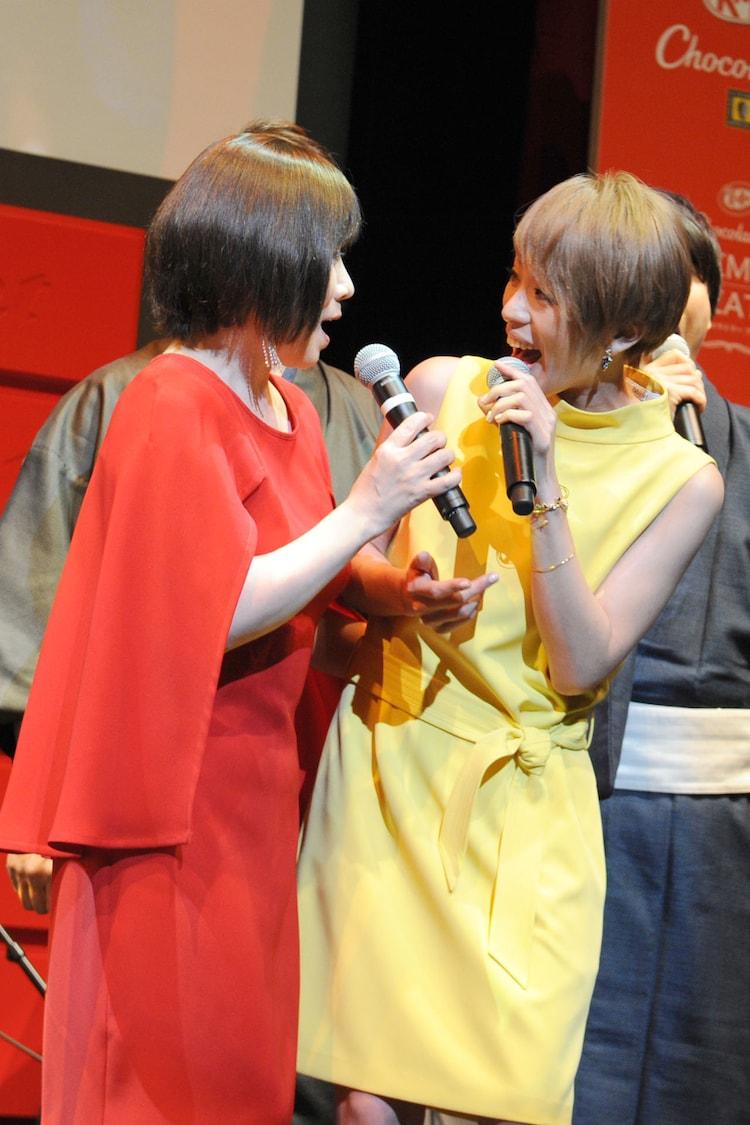森昌子と今井絵理子。