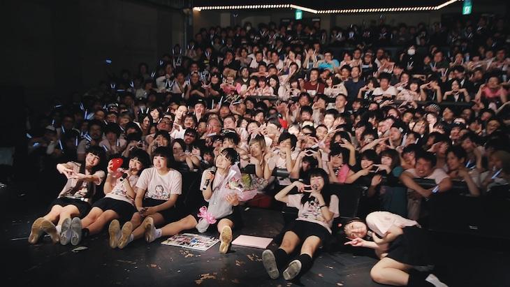 BELLRING少女ハート「もえち卒業ライブvol.3」の様子。(写真提供:AqbiRec)