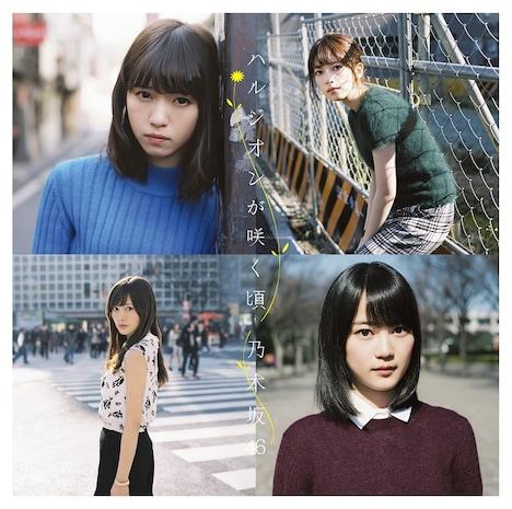 乃木坂46「ハルジオンが咲く頃」Type-Bジャケット