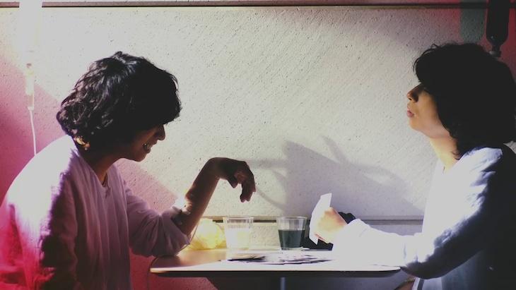 クリープハイプ「破花」MVのワンシーン。