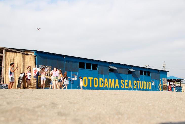 音霊 OTODAMA SEA STUDIOの外観。 (写真提供:音遊)