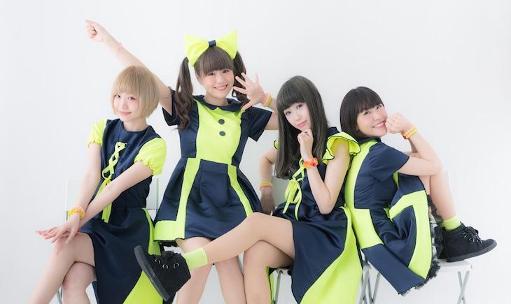 エレクトリックリボン。左からnatsuki、pippi、erica、chiaki。