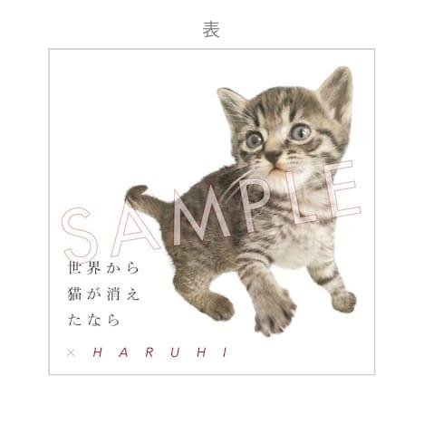 HARUHI「ひずみ」購入特典メモパッド表面