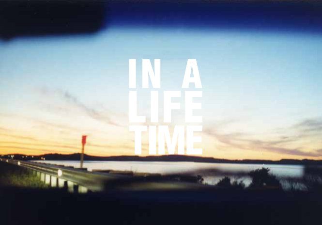 「IN A LIFETIME」ロゴ