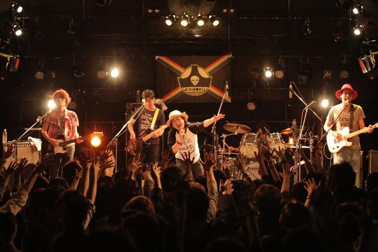 「RockでなしRockn'roll2016~海賊大祝祭~」HEAVEN'S ROCK さいたま新都心 VJ-3公演の様子。(撮影:青木勇太)