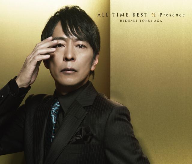 徳永英明「ALL TIME BEST Presence」初回限定盤ジャケット