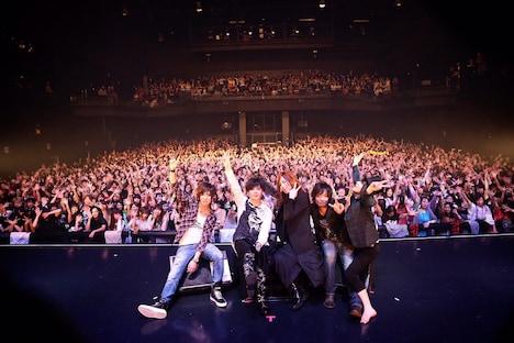 5月1日に東京・Zepp Tokyoで開催されたライブイベント「ループ開き」出演時のHeaRt。