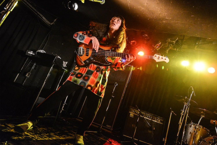 稲葉航大(B, Cho / Helsinki Lambda Club)(Photo by Daisuke Miyashita)
