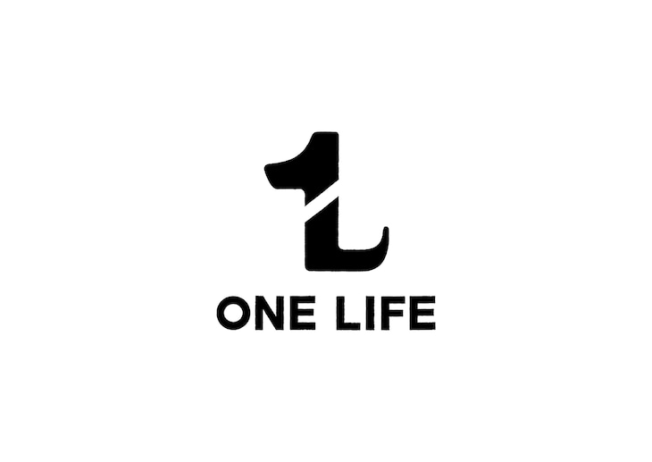 「ONE LIFE」ロゴ