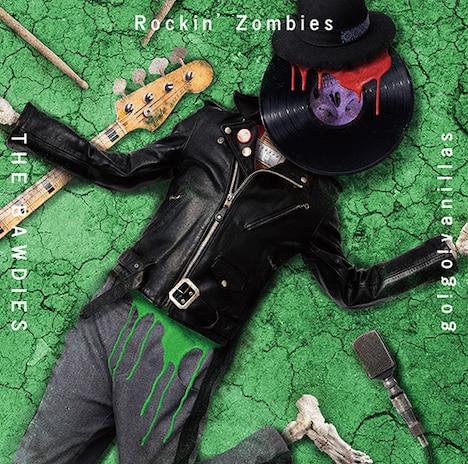 THE BAWDIES × go!go!vanillas「Rockin' Zombies」通常盤ジャケット