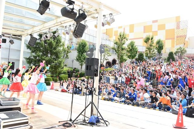 「ときめき▽宣伝部~3rd SEASON~『むてきなツアー』」最終公演の様子。