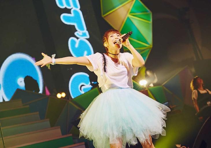 「新田恵海 LIVE 2016 EAST EMUSIC~つなぐメロディー~」の様子。(撮影:本多大介)