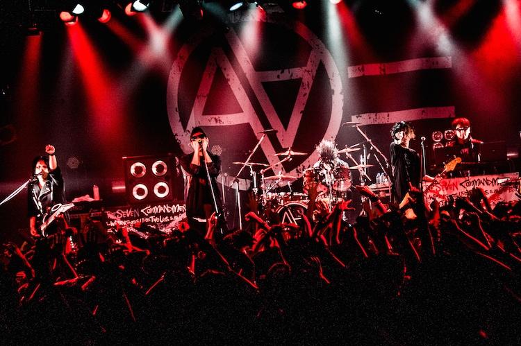 「AA= TOUR #5」東京・LIQUIDROOM公演の様子。(撮影:浜野カズシ)