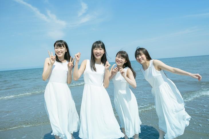 RYUTist。左から佐藤乃々子、横山実郁、宇野友恵、五十嵐夢羽。