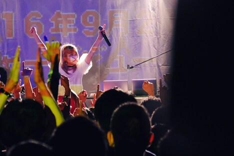 魔法少女になり隊「魔法少女になり隊 ワンマンツアー 2016~わたし、魔法少女になりたい!~」東京・原宿アストロホール公演の様子。