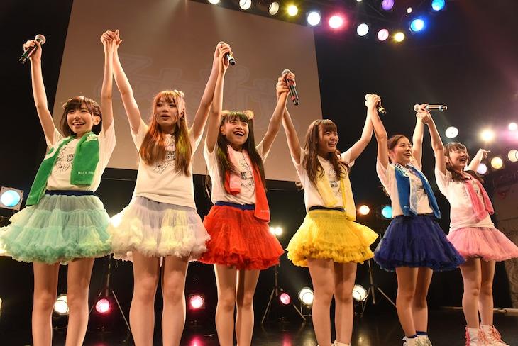 「乙女新党 第二幕・最終章 ~旅立ちのうた~」の様子。