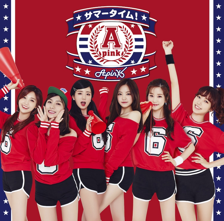 Apink「サマータイム!」初回限定盤Aジャケット