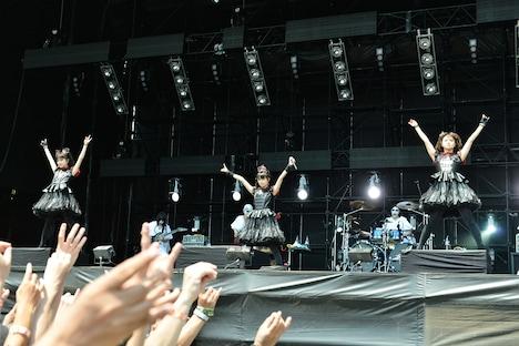 BABYMETAL(写真提供:rockin'on japan)