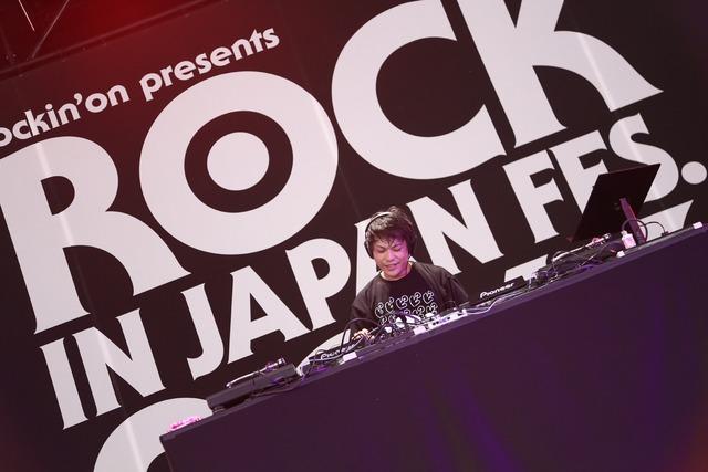 DJピエール中野(写真提供:rockin'on japan)