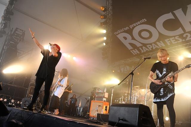a crowd of rebellion(写真提供:rockin'on japan)