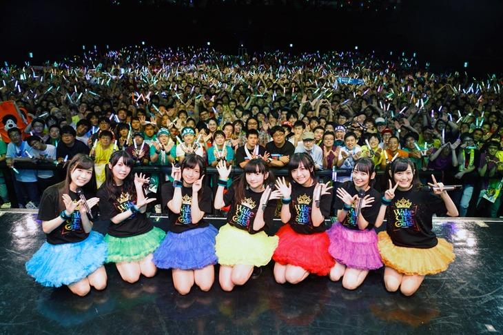 Wake Up, Girls!「あっちこっち行くけどごめんね!」最終公演の様子。(写真提供:DIVE II ENTERTAINMENT)