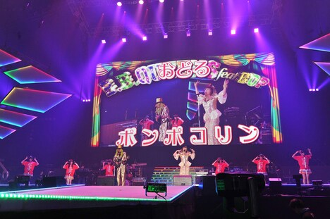 B.B.クィーンズ with B応P (c) Animelo Summer Live 2016/MAGES.