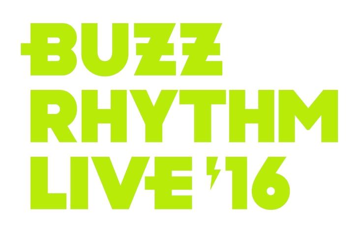 「バズリズム LIVE 2016」ロゴ