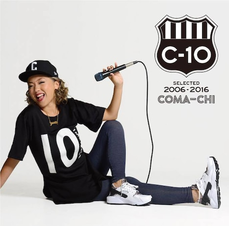 COMA-CHI「C-10~selected 2006-2016~」ジャケット