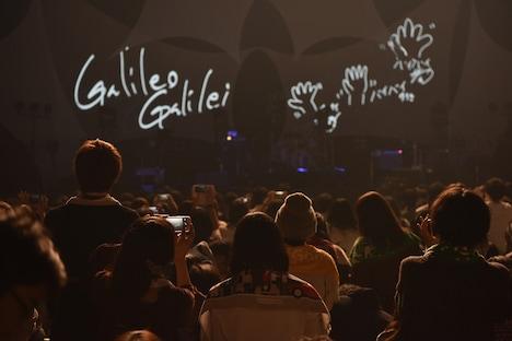 「Galileo Galilei Last Live~車輪の軸~ at 日本武道館」の様子。(撮影:エンドウアキラ)