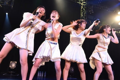「GALETTe Final Live ~I will never forget you~」の様子。