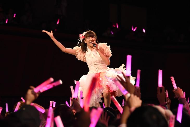 星名美怜生誕祭ソロライブ「MIREITOPIA」の様子。