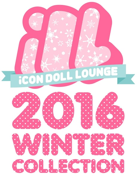 「iCON DOLL LOUNGE ~2016 WINTER COLLECTION~」ロゴ